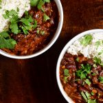 afghan kidney bean curry