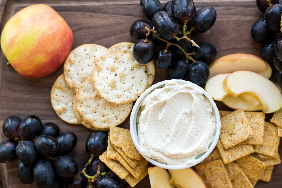 creamy vegan almond cheese
