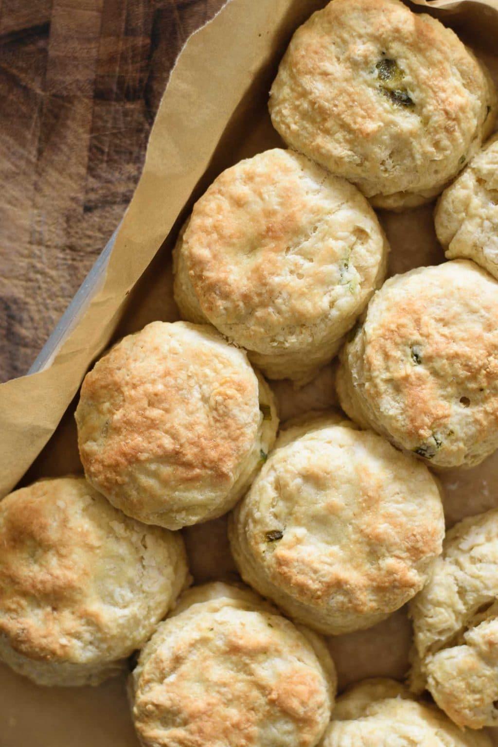 vegan jalapeño cheese biscuits