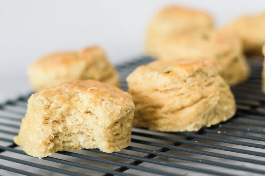 vegan jalapeño cheese biscuits