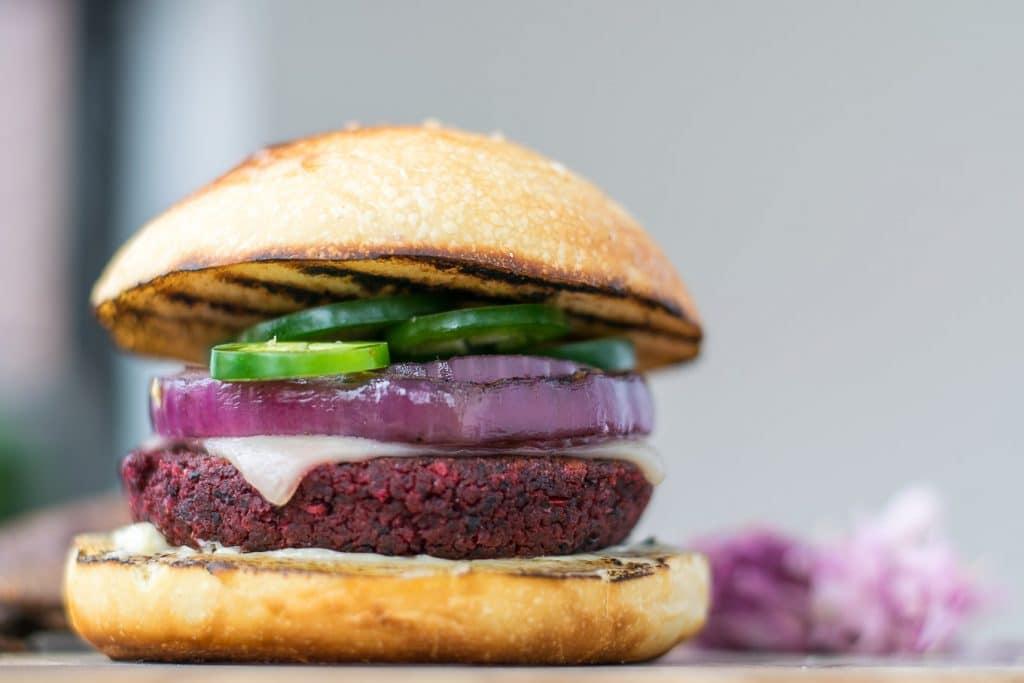vegan southwestern black bean burgers