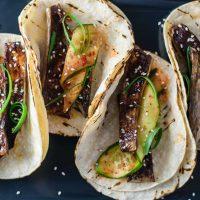 Miso-Glazed Eggplant Tacos (Nasu Dengaku Tacos)