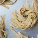 egg free vegan homemade black pepper pasta