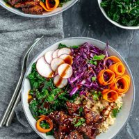 Hoisin Glazed Tempeh Bowls