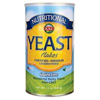 KAL Nutritional Yeast Flakes | Vitamin B12, Vegan, Non-GMO, Gluten Free
