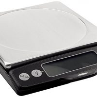 OXO Good Grips Stainless Steel Food Scale with Pull-Out Display, 11-Pound