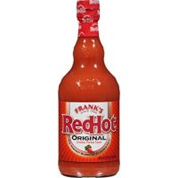 Frank's Redhot Original Cayenne Pepper Sauce, Fat Free Hot Wing Sauce, 23 oz