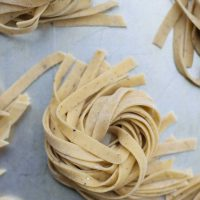 Egg-Free, Vegan Homemade Black Pepper Pasta