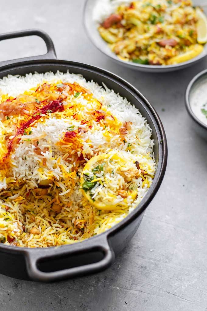 Sindhi Vegetable Biryani