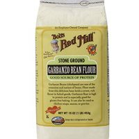 Bobs Red Mill Garbanzo Bean Flour, 16 Ounce (Pack of 4)