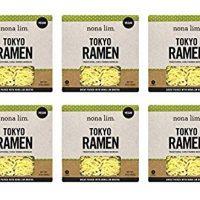Nona Lim Fresh Tokyo Ramen Noodles - Vegan, Dairy Free (10 oz, 6 Count)