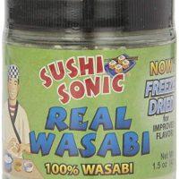 Sushi Sonic 100% Real Powdered Wasabi, 1.5 Ounce Jar