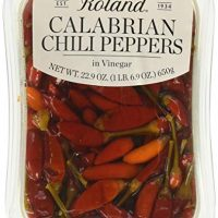 Monini Calabrian Chili Peppers In Vinegar, 22.9 Ounce