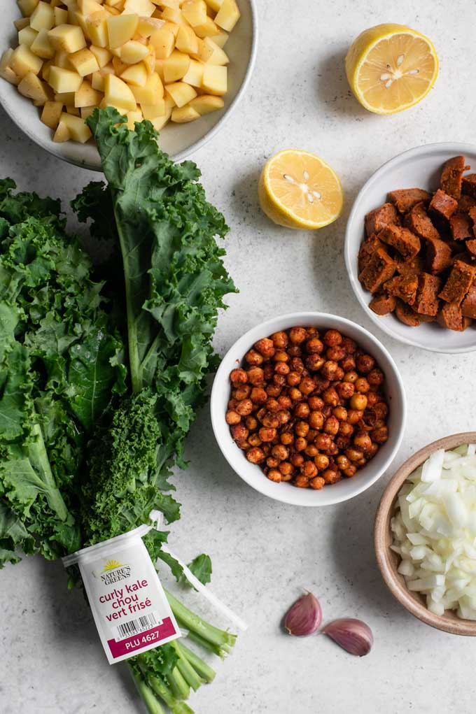 ingredients for breakfast hash