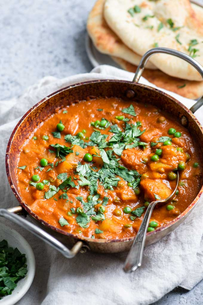 spoonful of aloo matar