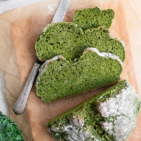 Homemade Kale Soda Bread