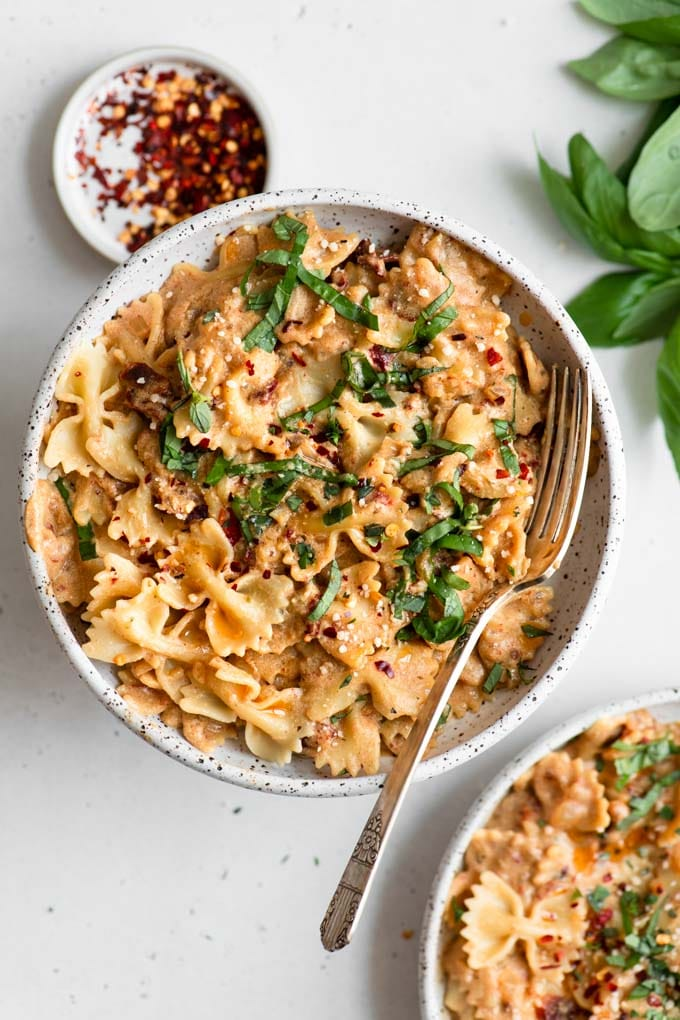 sun dried tomato cream pasta